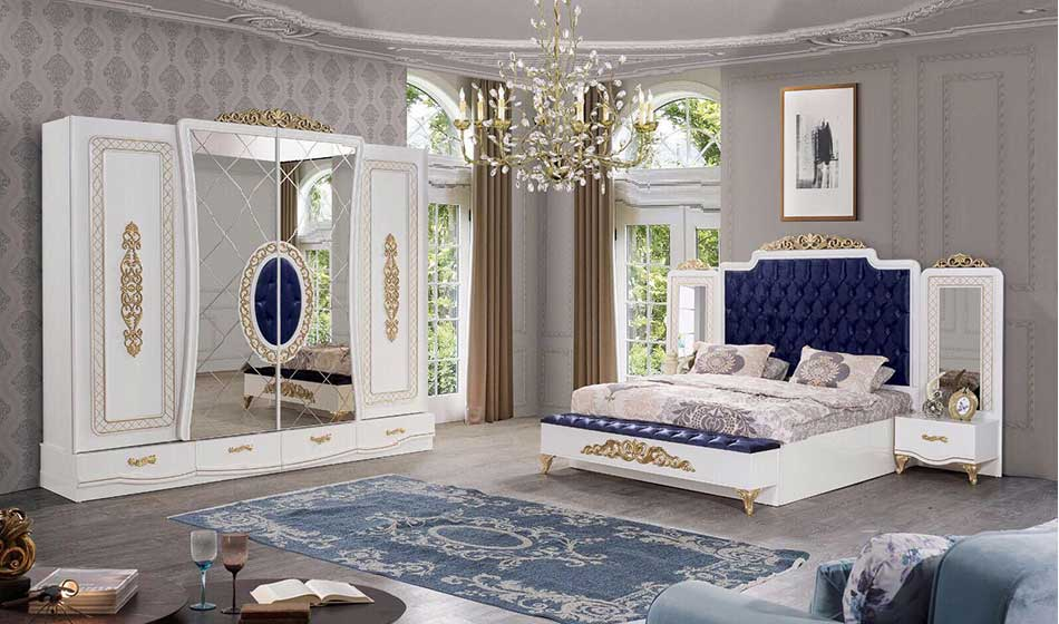 Black White--Blue Gray 2019-Bedroom-Decoration 2019