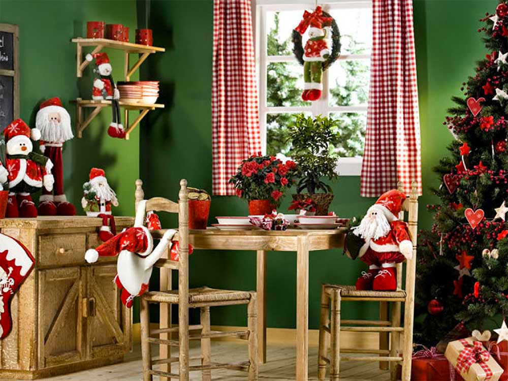 Christmas home decoration Christmas home decoration
