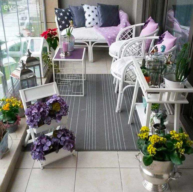 New terrace and balcony decoration models 2019