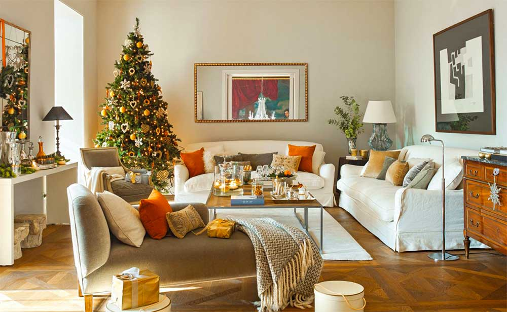 Trend Christmas Decoration Colours 2019