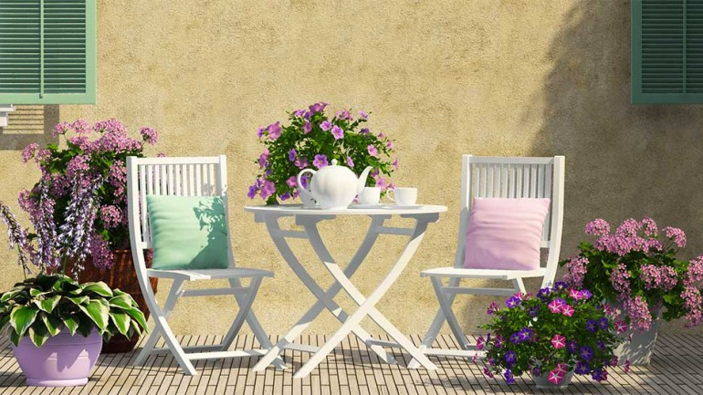 Terrace and Balcony Decoration Ideas 2019