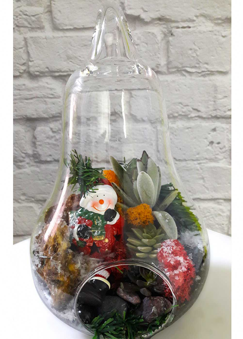 2019 Christmas Terrarium Ornament