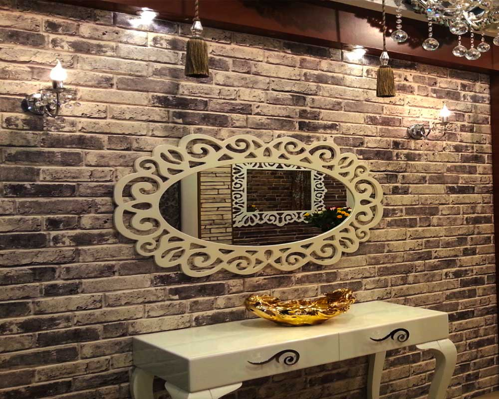 brick wall outdoor lamp decoration 2019