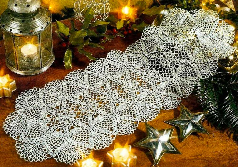 handmade lace in decoration 2019