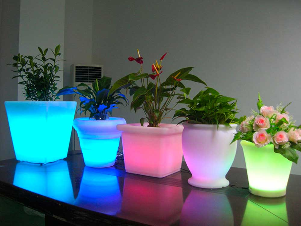 lighted vases 2019