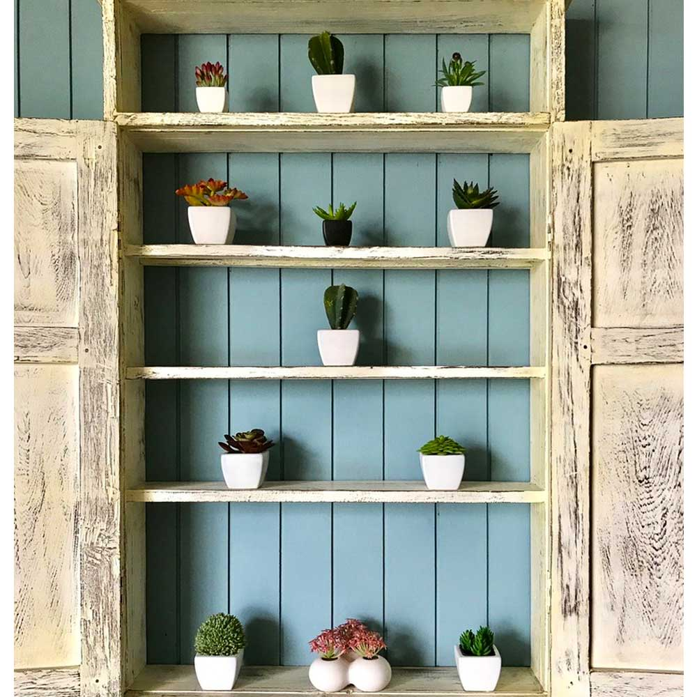 long shelf decoration in the living room 2019