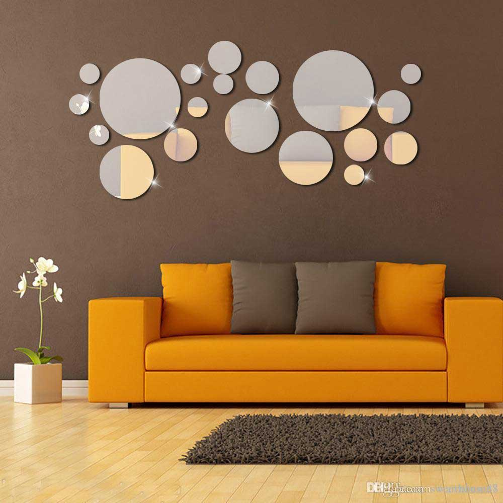living room decorative mirror models