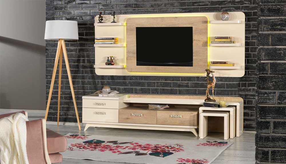 Modern TV Unit Decoration Ideas 2019 10