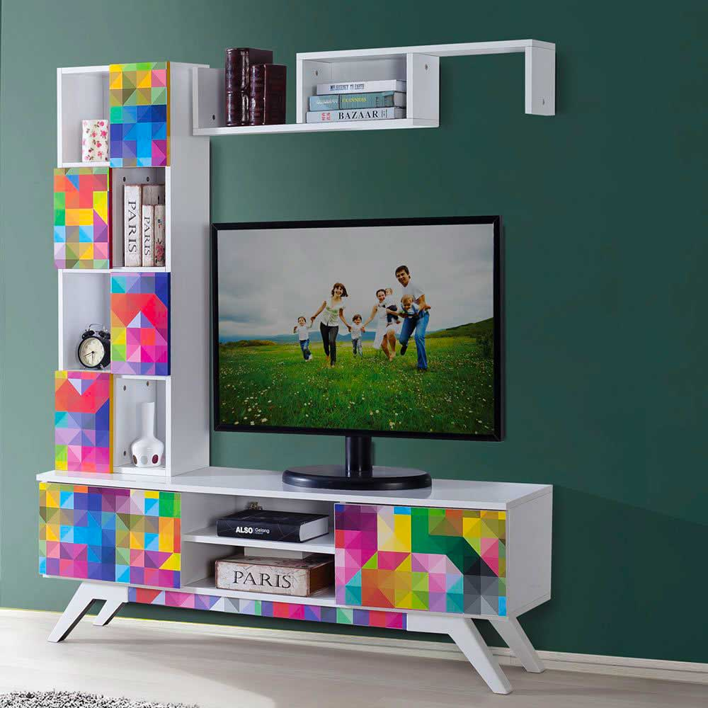 Modern TV Unit Decoration Ideas 2019 11