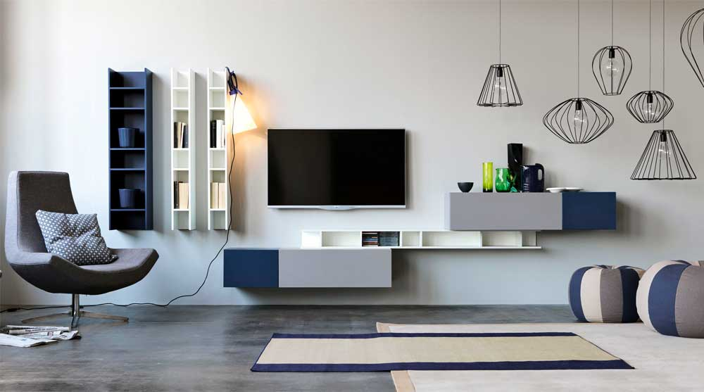 Modern TV Unit Decoration Ideas 2019 15