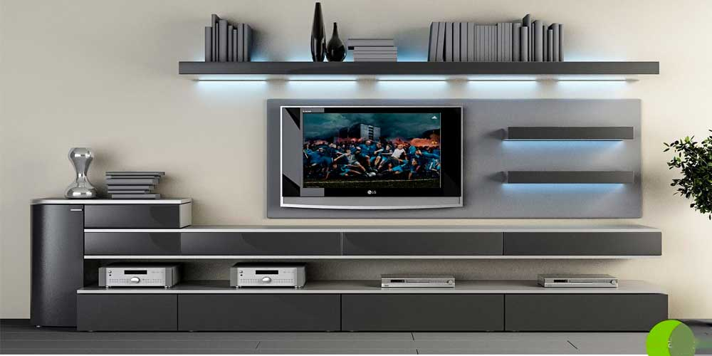 Modern TV Unit Decoration Ideas 2019 9
