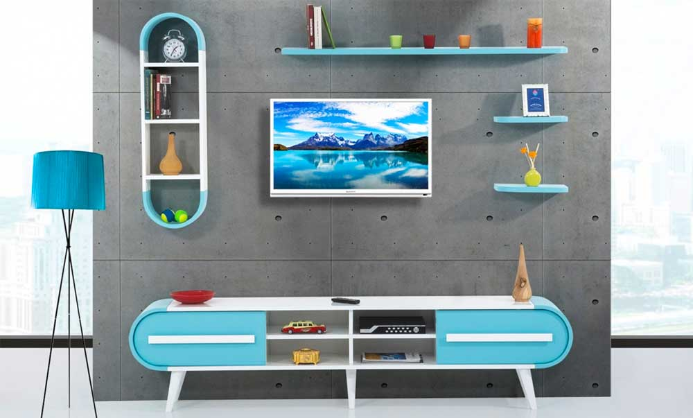Modern TV Unit Decoration Ideas 2019 13