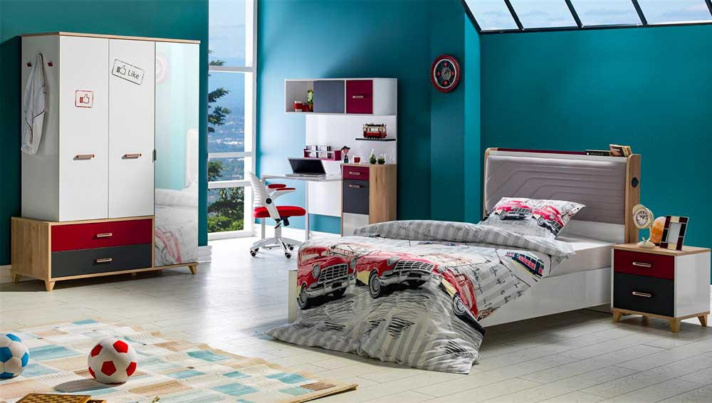 Modern Teen Bedroom Decoration 2019 12