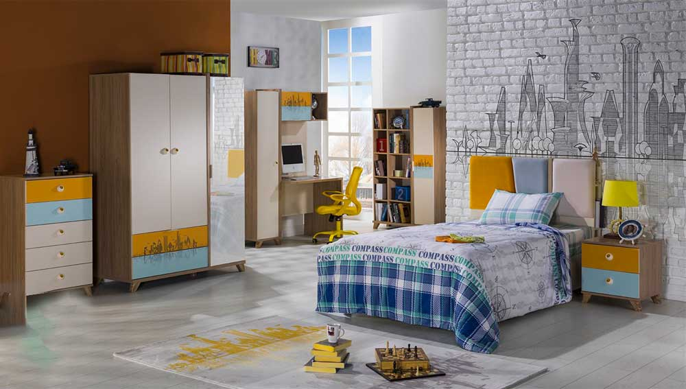 Modern Teen Bedroom Decoration 2019 13