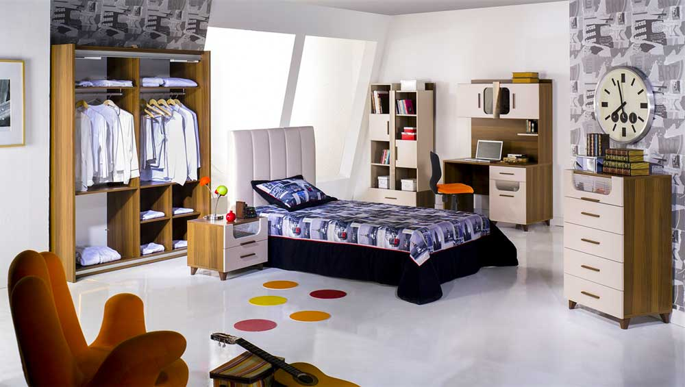 Modern Teen Bedroom Decoration 2019 10