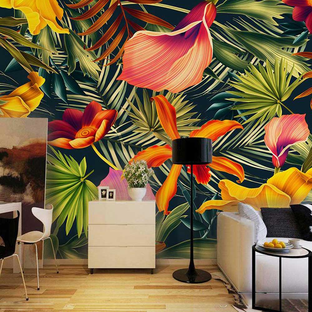 asian style patterned wallpaper models 2019
