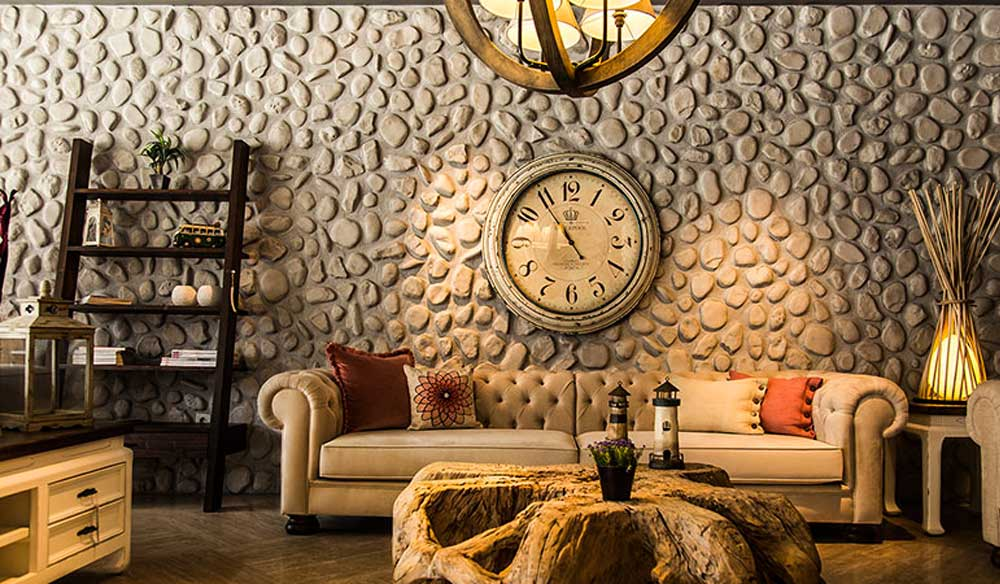 stone wall decoration 2019