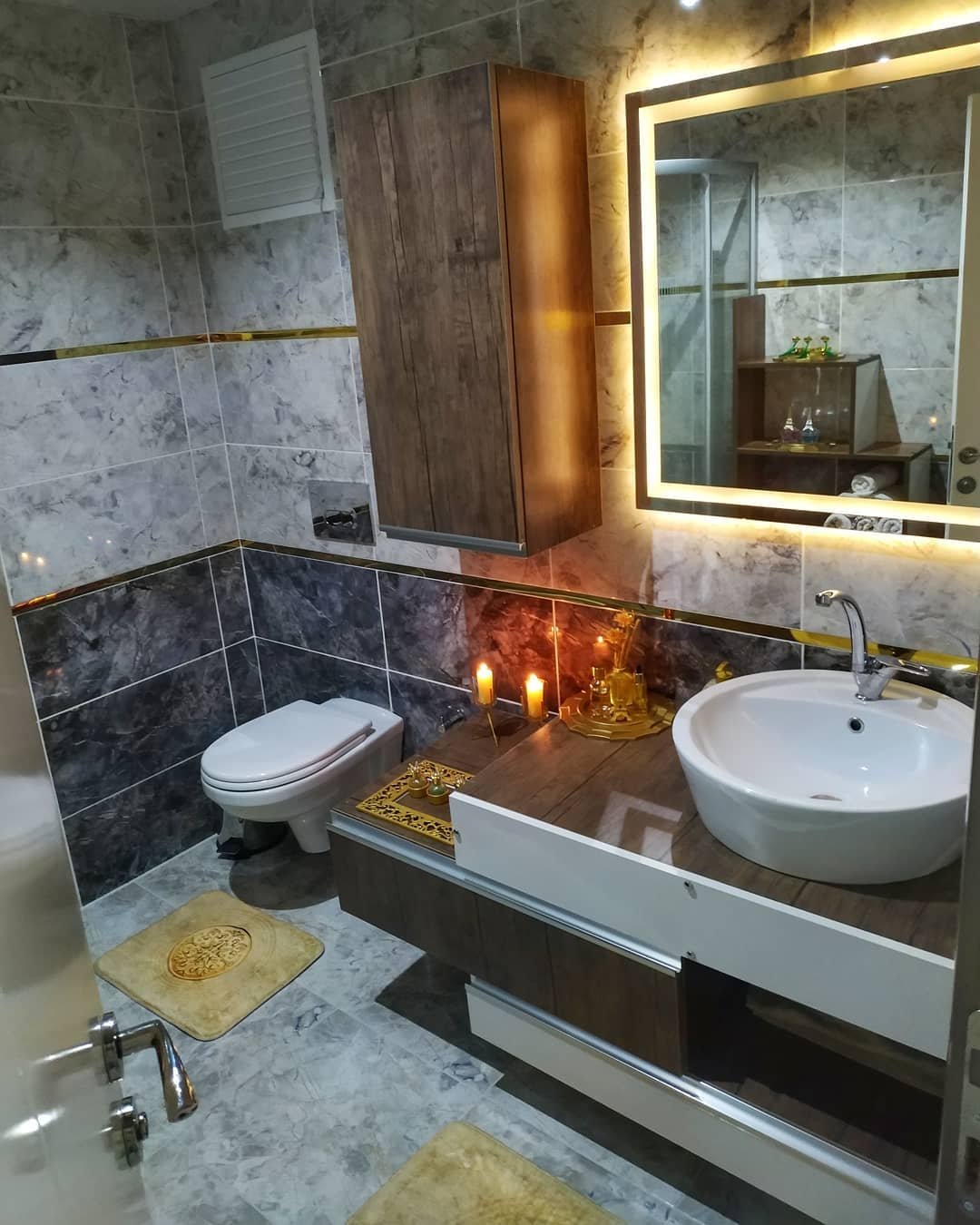 Home Decoration Bathroom models 2019 34