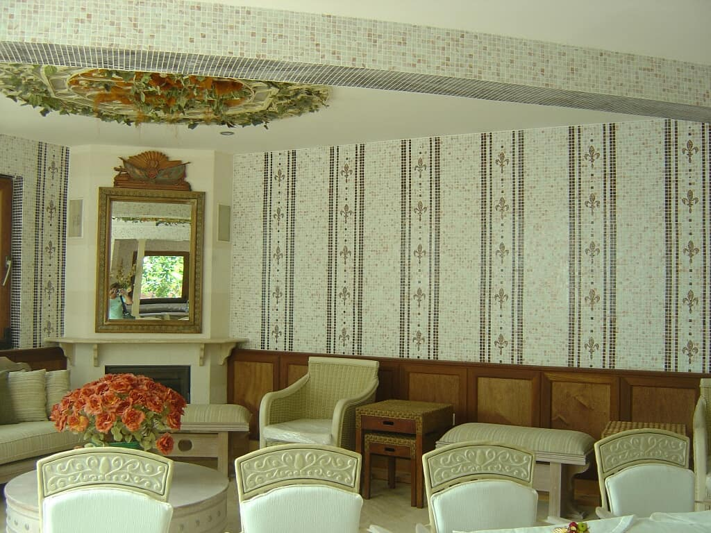 Mosaic walls in home decoration (5)