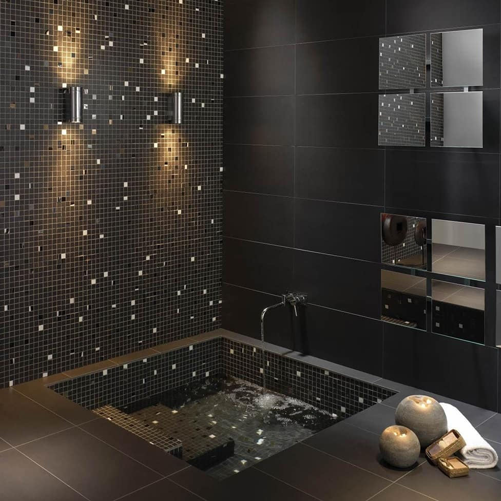 Mosaic walls in home decoration (7)