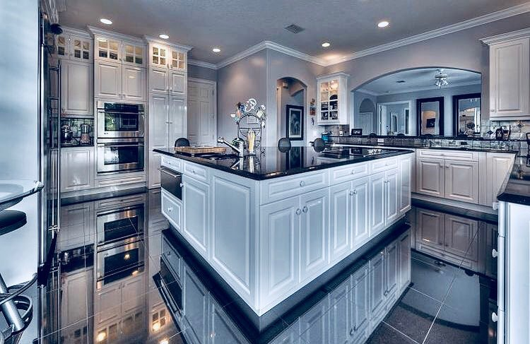 Best 100 Modern Contemporary Kitchen Designs 2019 (17)