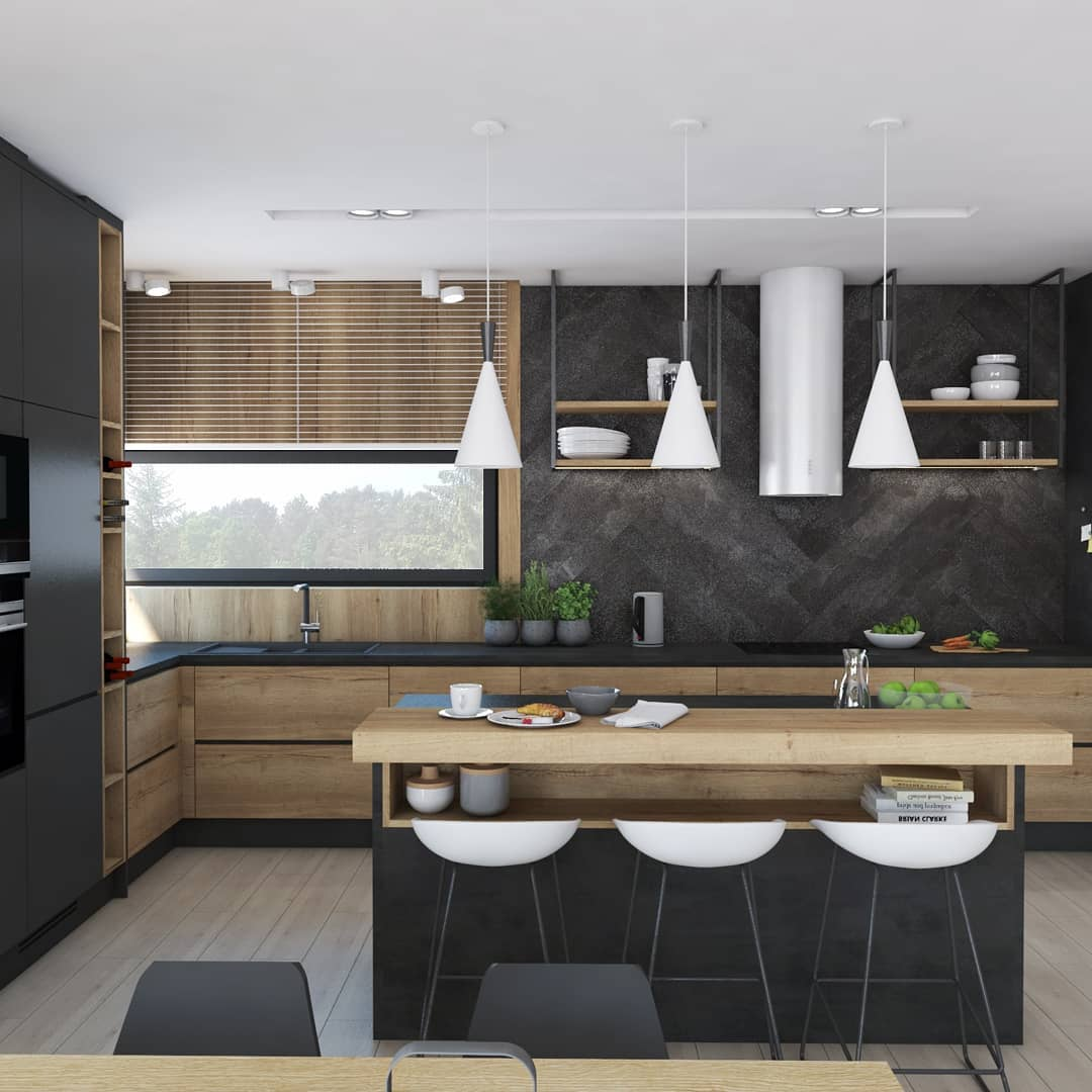 Best 100 Modern Contemporary Kitchen Designs 2019 (2)