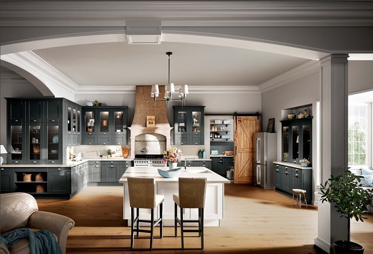 Best 100 Modern Contemporary Kitchen Designs 2019 (35)