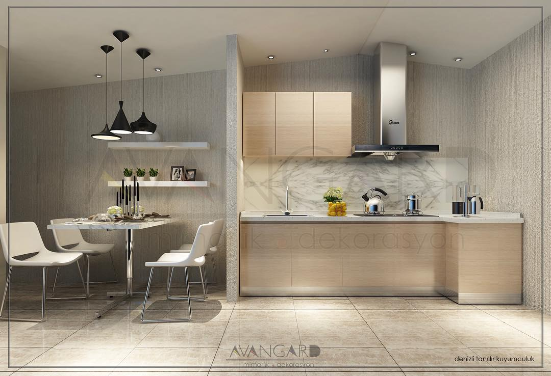 Best 100 Modern Contemporary Kitchen Designs 2019 (46)