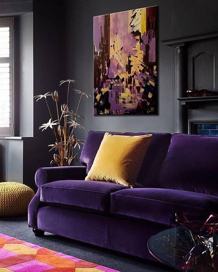 Decoration Samples with Lilac Armchairs 2020 (26)
