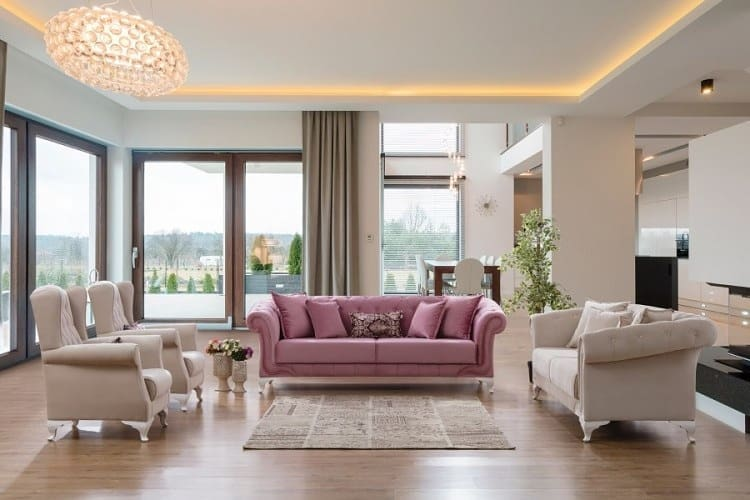 Decoration Samples with Lilac Armchairs 2020 (3)