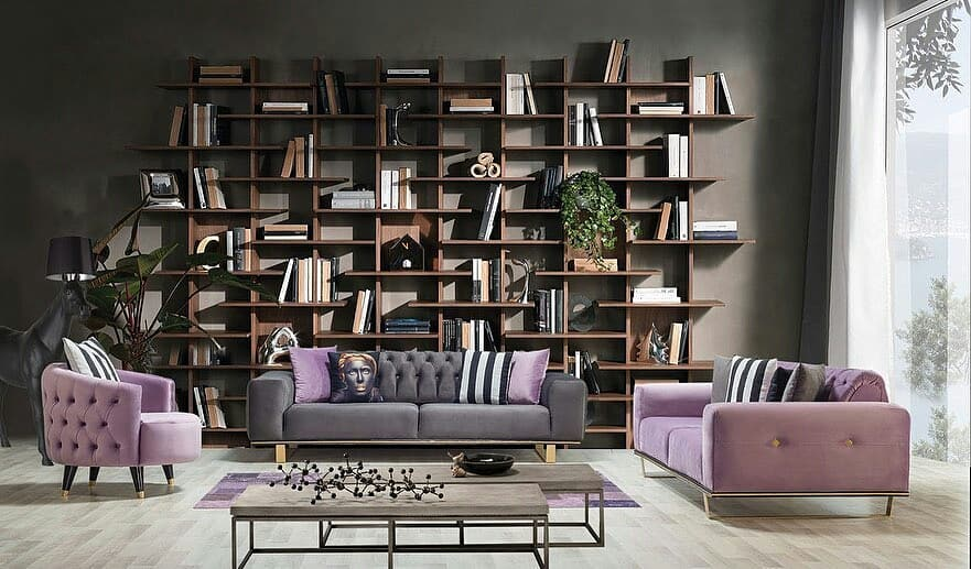 Decoration Samples with Lilac Armchairs 2020 (9)