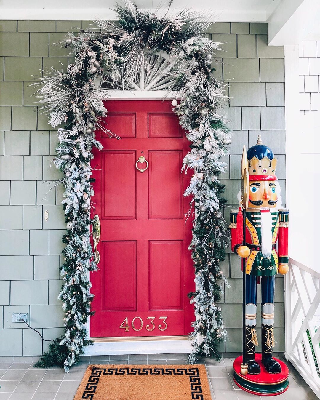 Christmas Door Decoration 2020 (10)