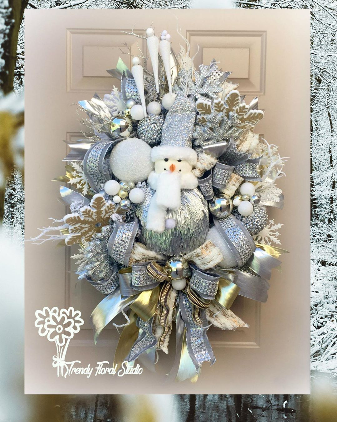 Christmas Door Decoration 2020 (15)