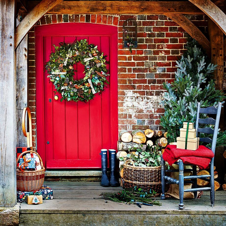 Christmas Door Decoration 2020 (18)