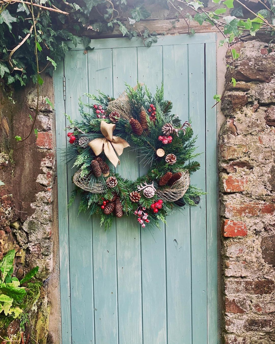 Christmas Door Decoration 2020 (19)
