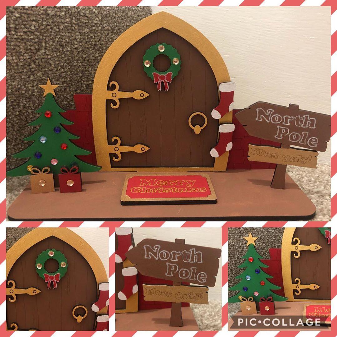 Christmas Door Decoration 2020 (20)
