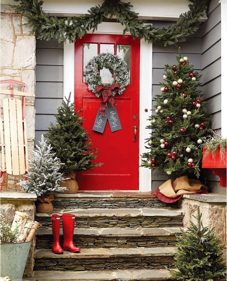 Christmas Door Decoration 2020 (8)