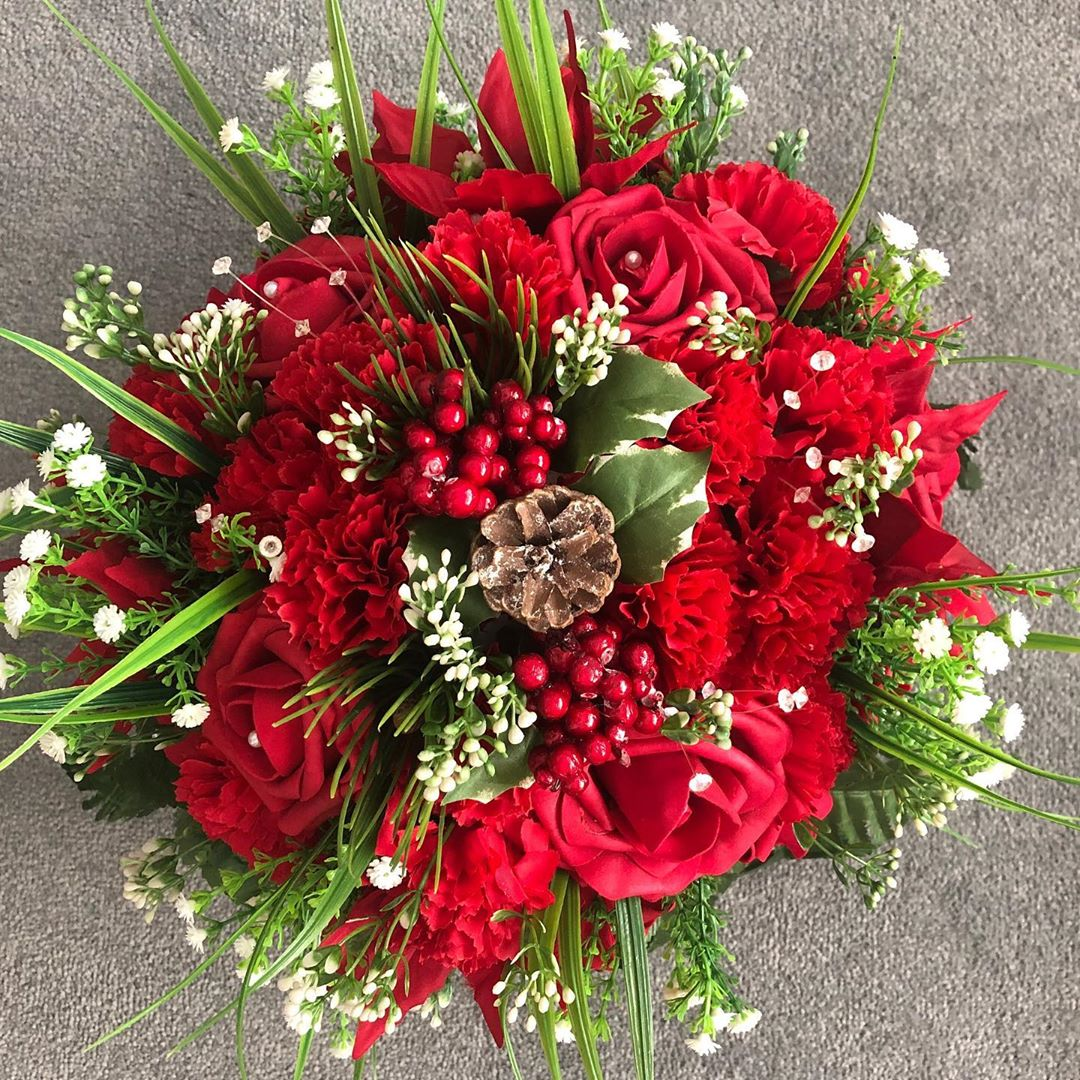 Christmas Flowers Decoration 2020 (10)