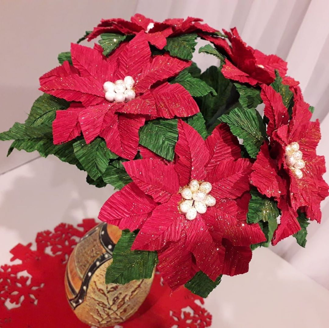 Christmas Flowers Decoration 2020 (11)