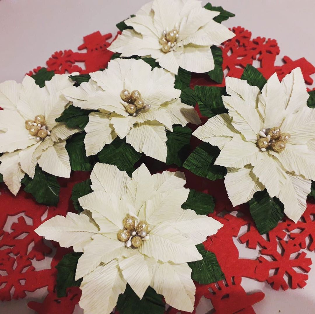 Christmas Flowers Decoration 2020 (12)