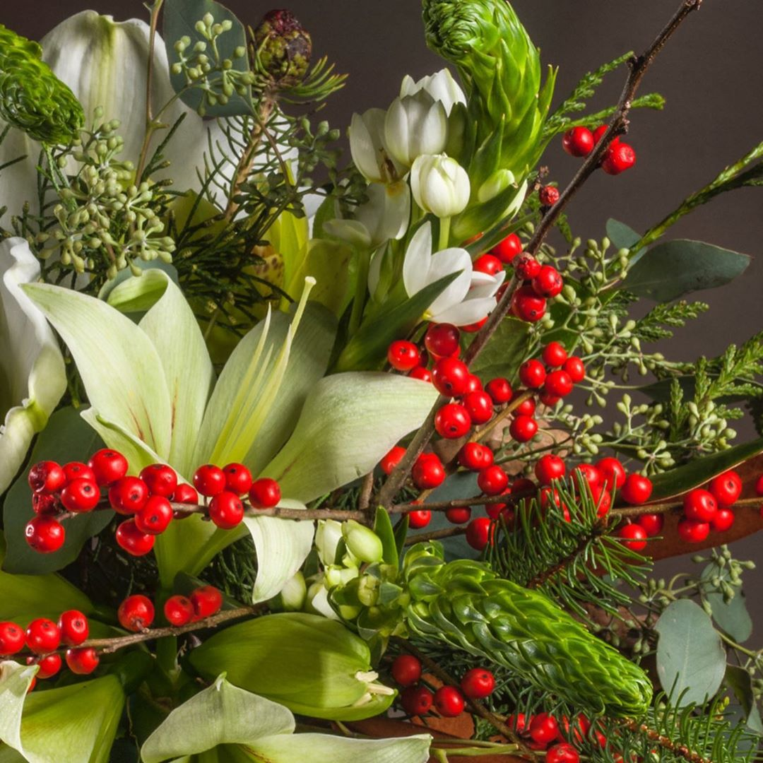 Christmas Flowers Decoration 2020 (13)