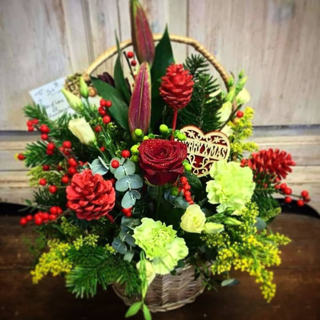 Christmas Flowers Decoration 2020 (14)