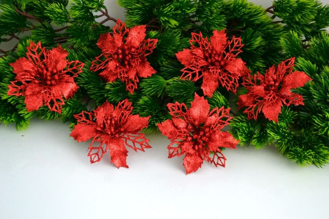 Christmas Flowers Decoration 2020 (17)