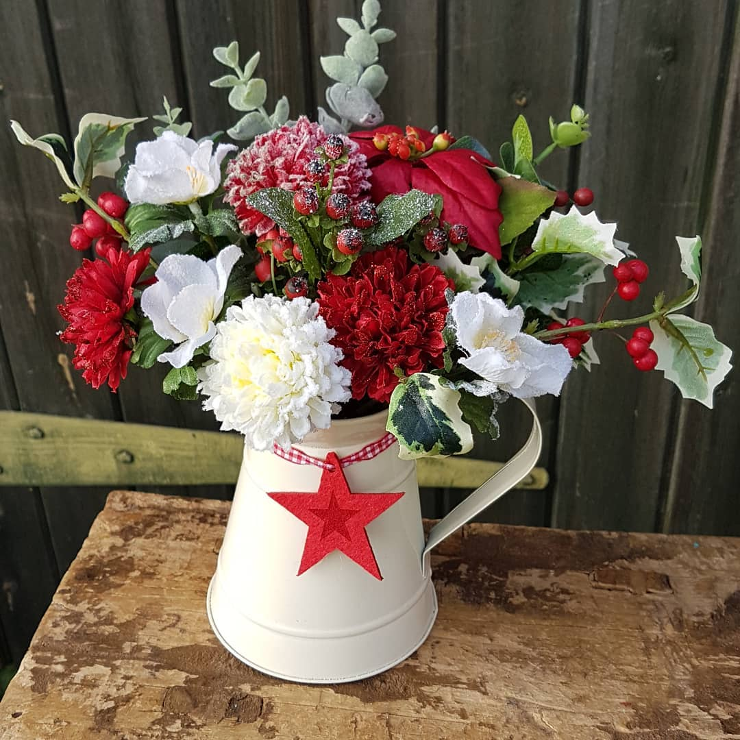 Christmas Flowers Decoration 2020 (18)