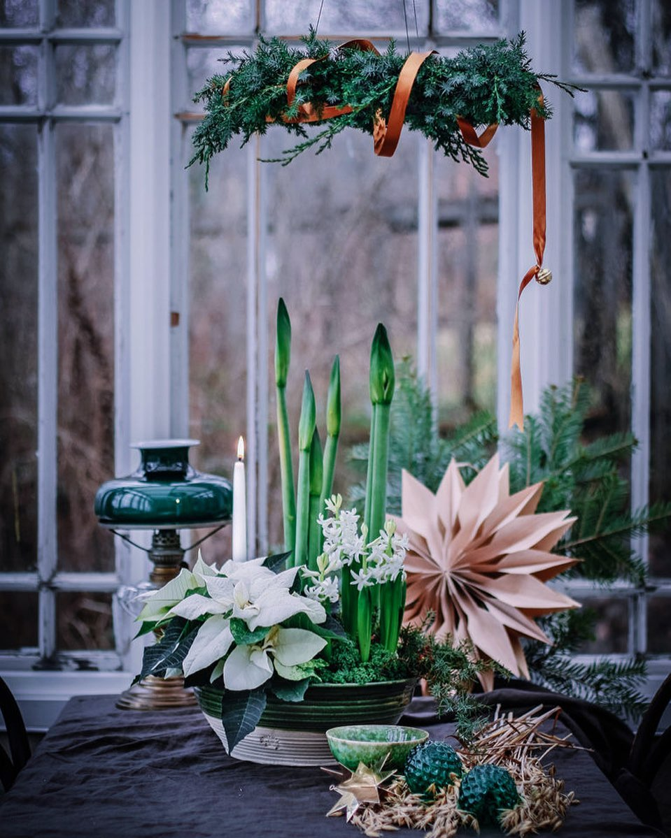 Christmas Flowers Decoration 2020 (19)