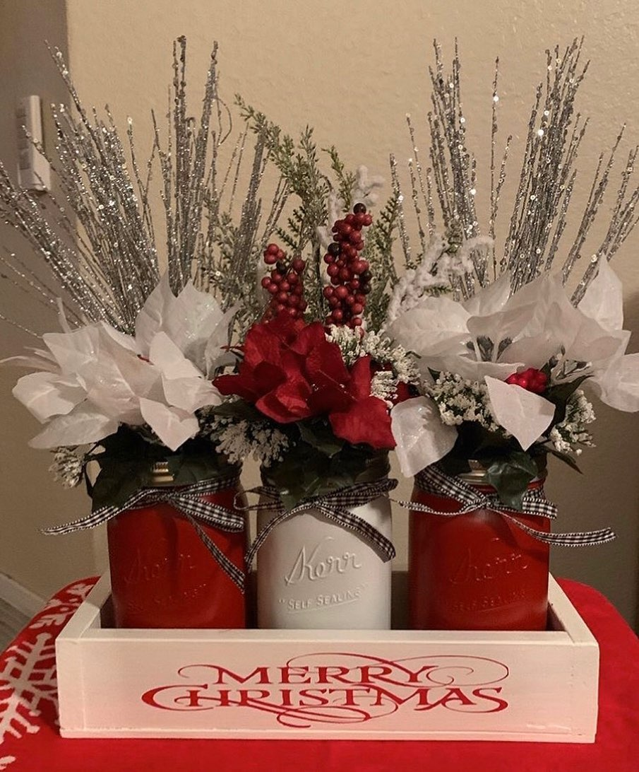 Christmas Flowers Decoration 2020 (20)