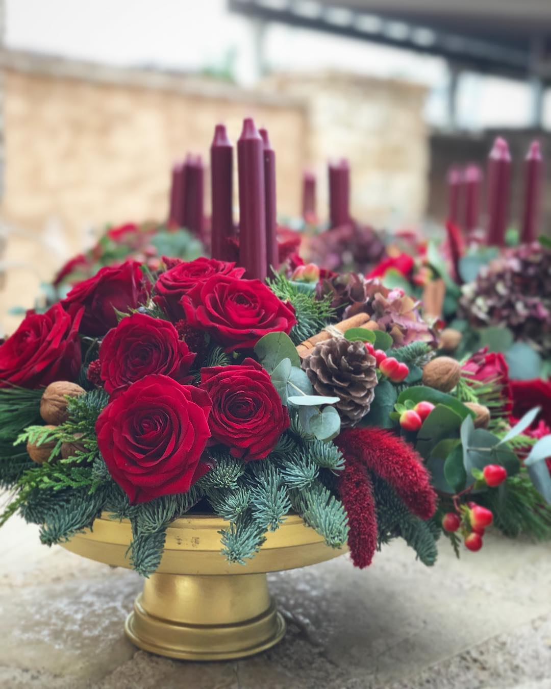 Christmas Flowers Decoration 2020 (25)