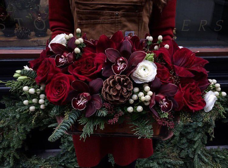Christmas Flowers Decoration 2020 (26)