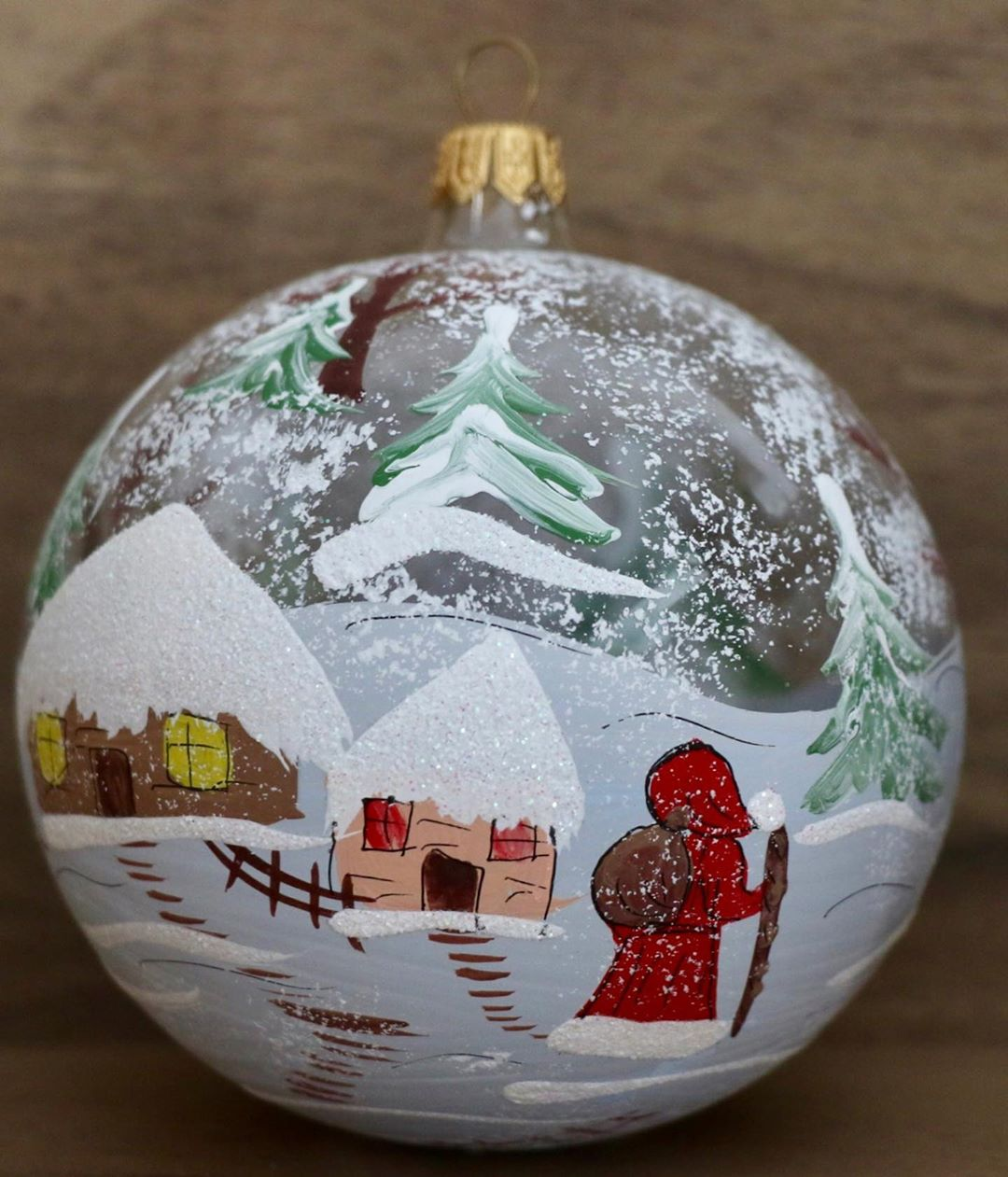 Glass ornaments for Christmas (1)