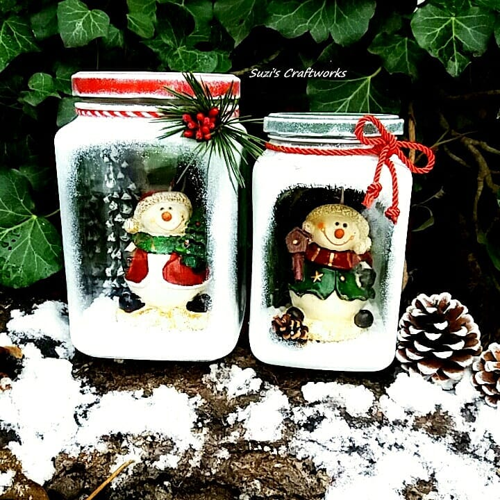 Glass ornaments for Christmas (3)